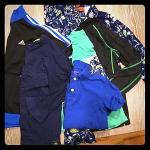 6 PCs boys sz 10 gently used clothing